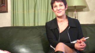 video d'une française mature super chaude du cul
