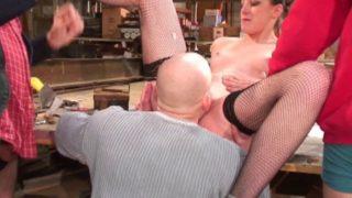 bar a salope couple francais candauliste