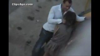 sexe arabe en public
