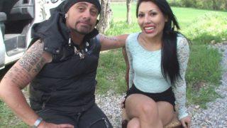 baiser pendant ses vacances en camping-car
